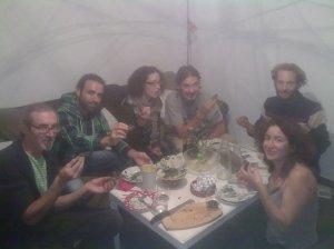 Sopar spirulinaire tardor 2012